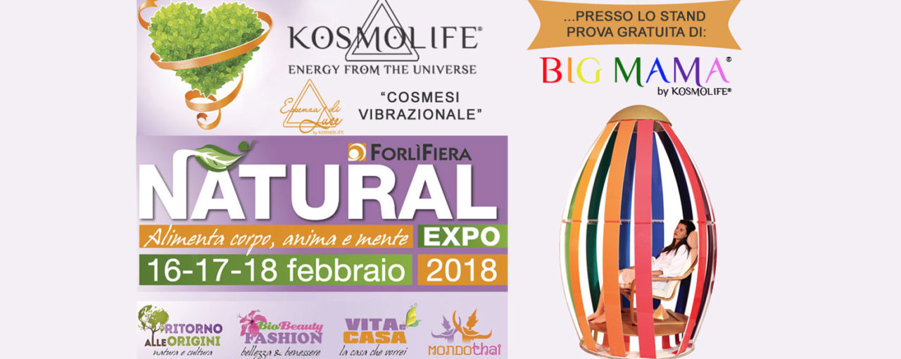 ESSENZA DI LUCE BY KOSMOLIFE  | NATURAL EXPO 2018