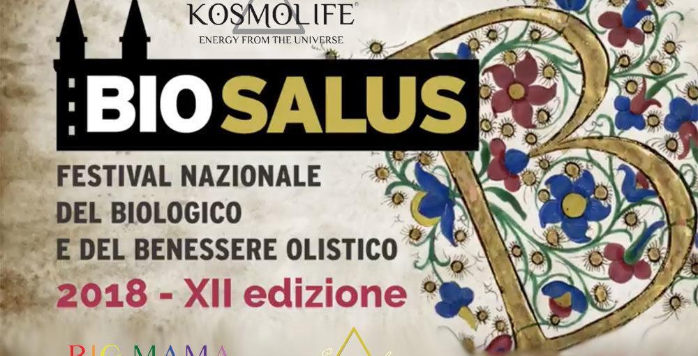 ESSENZA DI LUCE E KOSMOLIFE AL BIOSALUS FESTIVAL – OTTOBRE 2018